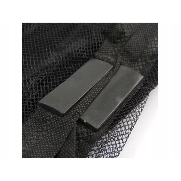 mágneses szúnyogháló ajtóra 210x100cm fekete szúnyogháló omegamix.hu