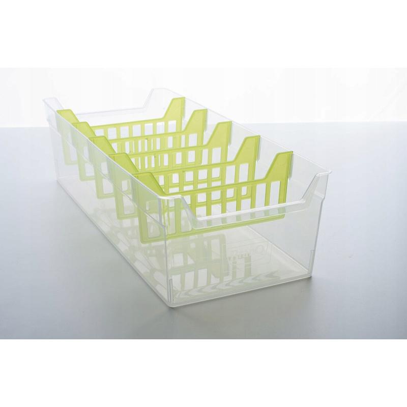 Fűszer szervező 30x13x8cm műanyag omegamix.hu